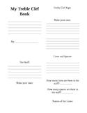 Mini Student Treble Clef Book