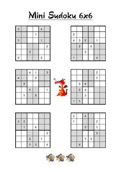 Mini Sudoku 6x6
