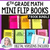 Mini Tabbed Flip Book Bundle for 6th Grade Math