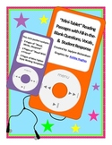 """""""Mini-Tablet"""" Reading Passages with FITB Questions, Vocab., &  Student Response"""