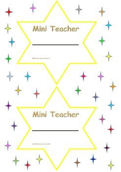 Mini Teacher Stars