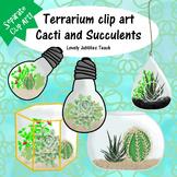 Mini Terrarium Set Clip Art