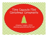 Mini Time Capsule Christmas Ornaments