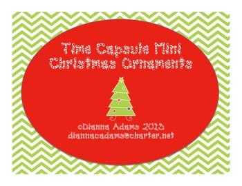 Mini Time Capsule Christmas Ornaments