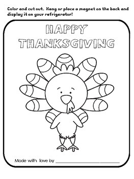 preschool thanksgiving mini turkey unit by a plus academics tpt