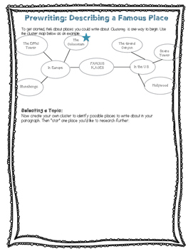 Mini Unit - Descriptive Writing Across Curriculum