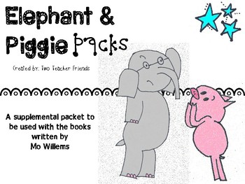 Waiting is Not Easy {Elephant and Piggie Packs}