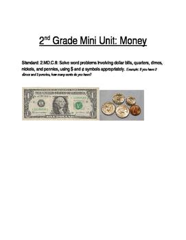 Mini Unit: Money