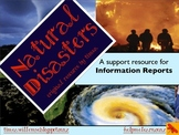 Mini Unit: Natural Disasters / Forces - writing informatio