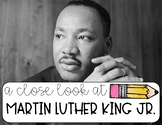 Mini Unit Study on MLK Jr.