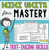Reading Comprehension Unit for Mastery- Test Taking Skills