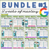 Reading Comprehension Units for Mastery- Bundle #1 - Dista