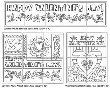 Mini Valentine Murals