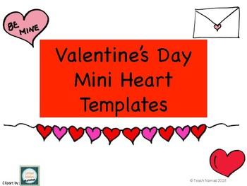 Mini Valentine's Day Heart Paper