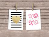 Mini Valentine's Digital Printable Cards
