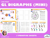 Mini Version: GL Blends Practice Workbook (LOW PREP)