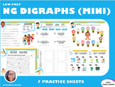 Mini Version: NG Blends Practice Workbook (LOW PREP)