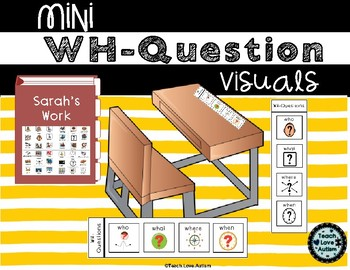 Mini WH-Question Visuals