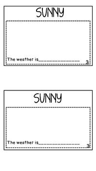 Mini Weather Book