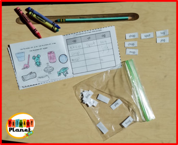 Mini Word Sorts for Word Work  Same Vowel Families