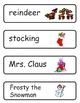 Mini Word Book-Christmas Words