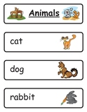 Mini Word Book-Domesticated Animals