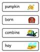 Mini Word Book-Farm Words
