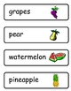 Mini Word Book-Fruit Words