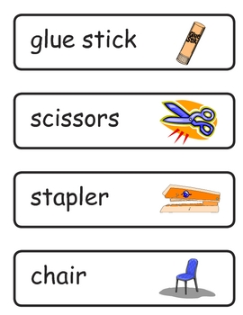 Mini Word Book-School Words
