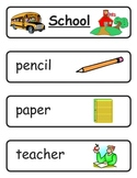 Mini Word Book-School Words