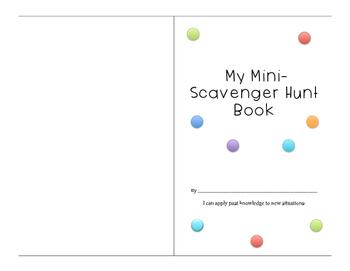 Mini-Word Scavenger Hunt