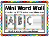 Mini Word Wall!