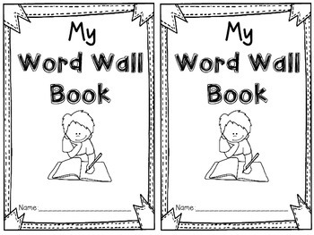 Mini Word Wall Book
