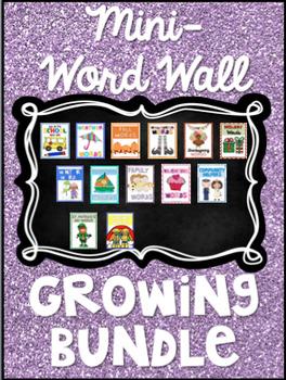 Mini Word Wall - Growing BUNDLE