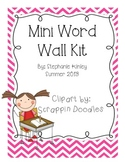 Mini Word Wall Word Kit