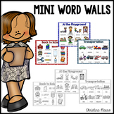 Mini Word Walls