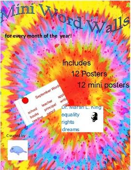 Mini Word Walls