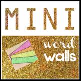 Mini Word Walls for Individual Students