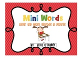 Mini Words!  Letter and Word Searches in Pictures