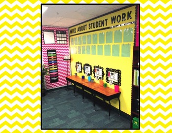 Mini Writing Center Student Bulletin Boards