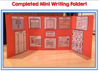 Mini Writing Folders