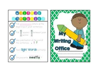 Mini Writing Office!