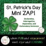 Mini ZAP St. Patrick's Day Declarative, Interrogative, Exc
