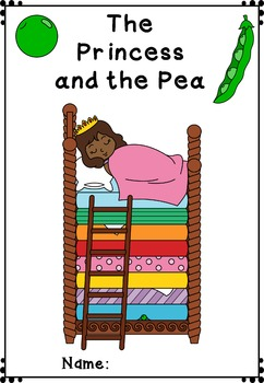 Mini-book : The Princess and the Pea - African American : Standard Lines