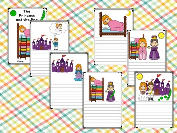 Mini-book : The Princess and the Pea : Standard Lines