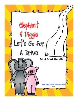 Mini-book bundle Elephant and Piggie