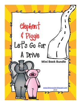 Mini-book bundle Elephant and Piggie