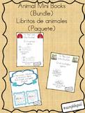 Mini book bundle (zoo,farm,ocean) paquete de libritos(zoologico,granja,oceano)
