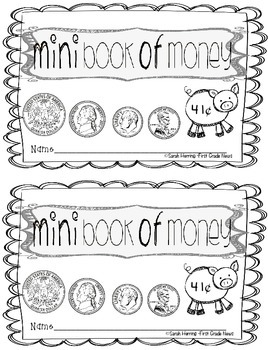 Mini book of Money