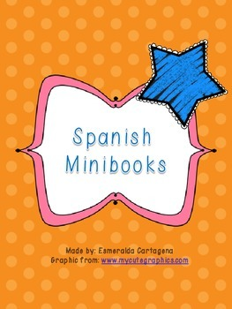 Mini books in Spanish (high frequency words)